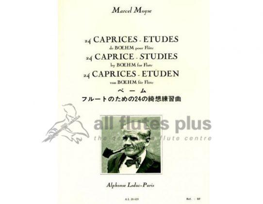 24 Caprices de Boehm, Op 26 Composer- Boehm Arranger- Marcel Moyse 24 Capriccios Publisher-Leduc