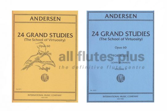 Andersen 24 Grande Studies of Virtuosity Opus 60-IMC