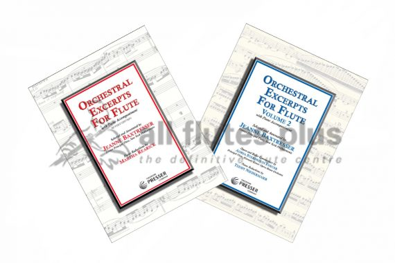 Baxtresser Orchestral Excerpts for Flute-Theodore Presser