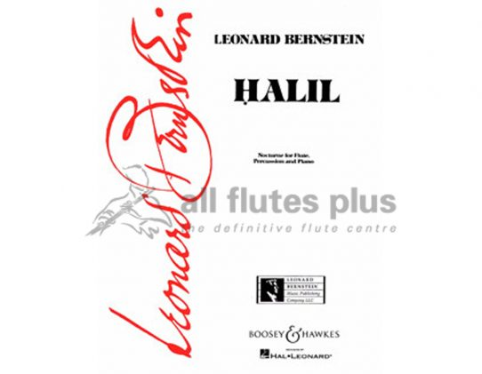 Bernstein-Halil Nocturne-flute percussion and piano
