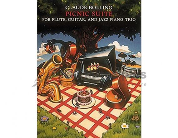 Bolling-Picnic Suite-Flute Guitar and Jazz Piano Trio