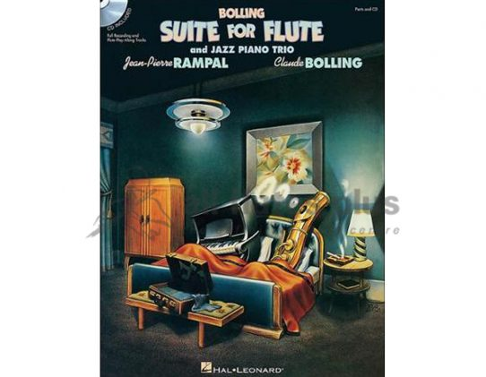 Bolling Suite-Flute and Jazz Piano Trio-Hal Leonard