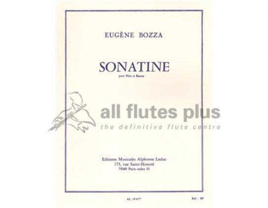 Bozza Sonatine-Flute and Bassoon-Leduc