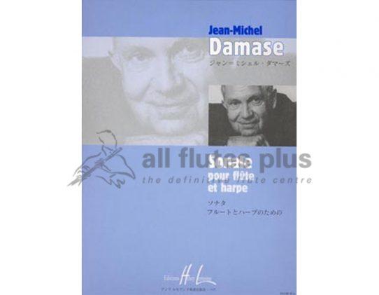 Damase Sonata No 1-Flute and Harp-Lemoine