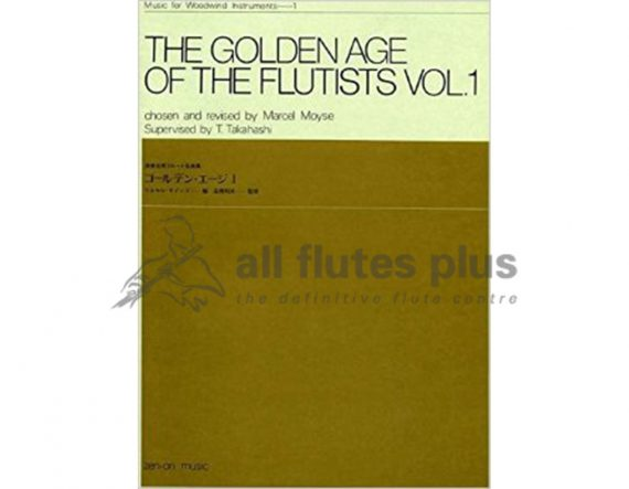 The Golden Age of the Flutists Volume 1-Flute and Piano