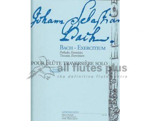 JS Bach-Exercitium-Preludes Fantasies Toccatas-Solo Flute-Leduc