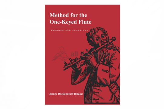 Janice Dockendorff Boland-Method for the One-Keyed Flute