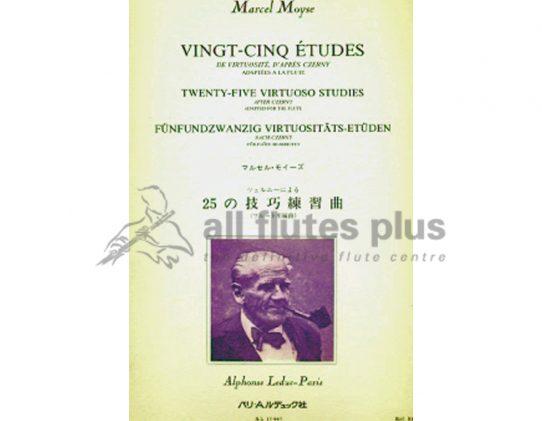 Moyse-25 Virtuoso Studies after Czerny-Flute-Leduc