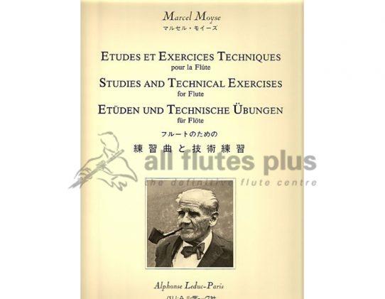 Moyse-Etudes et Exercises Techniques-Flute-Leduc