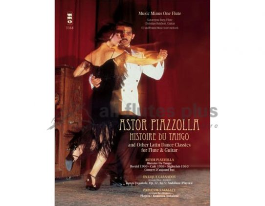Piazzolla Histoire du Tango and other Latin Dance Classics-Flute and Guitar