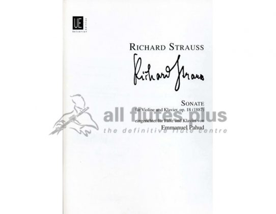 Strauss, Richard - Sonata Op.18
