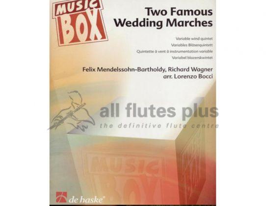 Two Famous Wedding Marches-Wind Quintet-De Haske