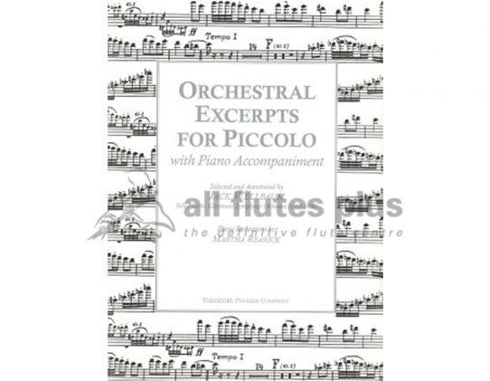 Wellbaum Orchestral Excerpts for Piccolo-Theodore Presser