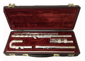 Buffet Secondhand Flute with Curved and Straight Headjoint-C6781