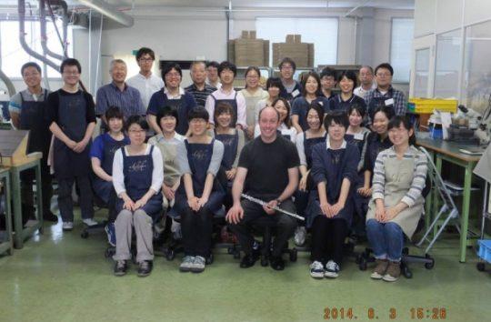Ian's visit to new Miyazawa factory in Iijima-Japan