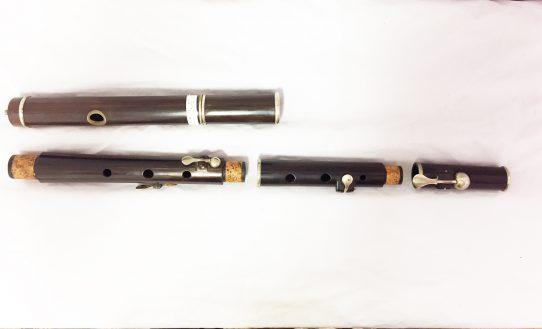 Fentum 4 Keyed Rosewood Secondhand Flute-c5990