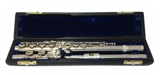 Nomata Japan ROE Silver Secondhand Flute-c7517