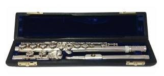 Nomata Japan ROE Silver Secondhand Flute-c7517