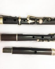 Thomas Crowse 8 Keyed Wooden Secondhand Flute-Nicholson improved comm7592