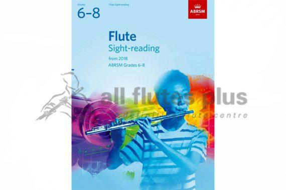 ABRSM Flute Sight Reading Grades 6-8 from 2018
