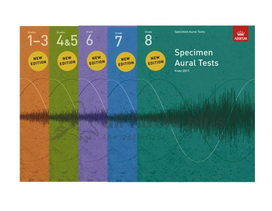 ABRSM Specimen Aural Tests-Book Only-From 2011