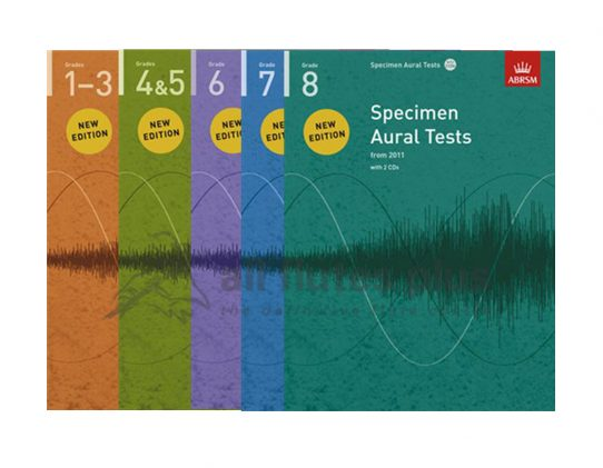 ABRSM Specimen Aural Tests-Book and CD-From 2011ABRSM Specimen Aural Tests-Book and CD-From 2011