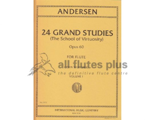 Andersen - 24 Grande Studies of Virtuosity Op. 60