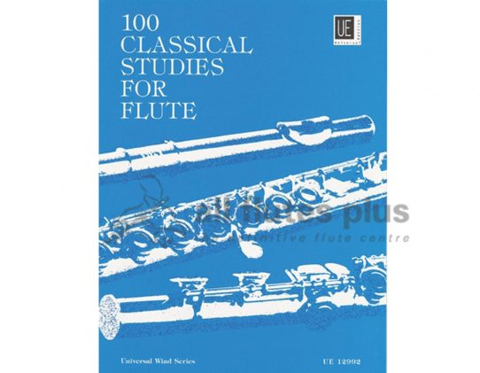 100 Classical Studies for Flute-Vester-Universal