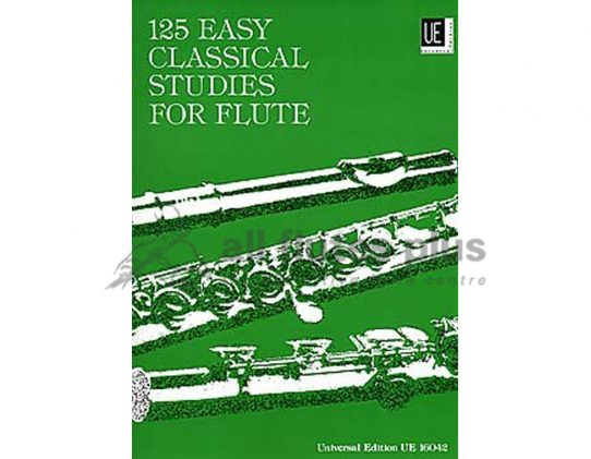 125 Easy Classical Studies for Flute-Universal