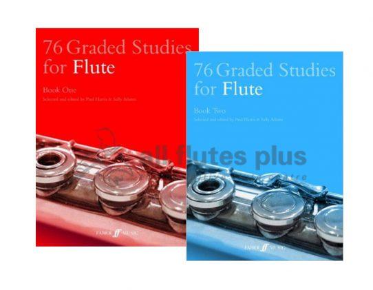 76 Graded Studies-Flute-Faber