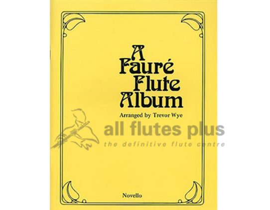 A Faure Flute Album-Flute and Piano-Trevor Wye-Novello