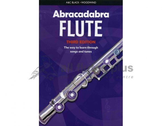 Abracadabra Flute 3rd Edition-Flute tutor book-Collins Music