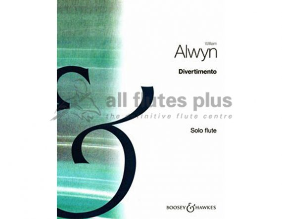 Alwyn Divertimento-Solo Flute-Boosey and Hawkes