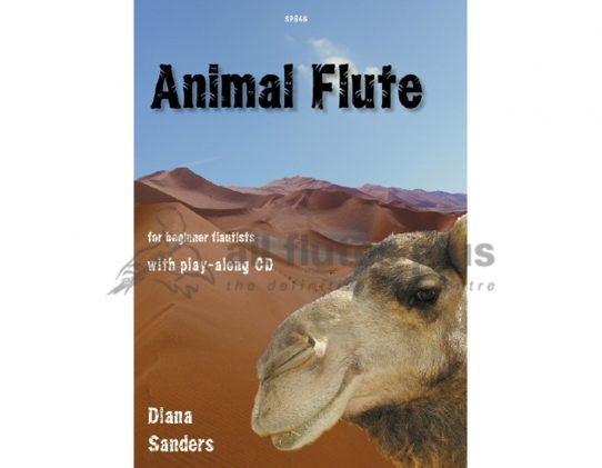 Animal Flute Book-Flute and CD-Spartan