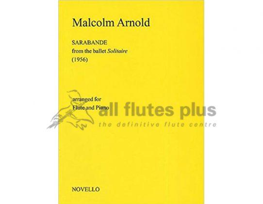 Arnold Sarabande-Flute and Piano-NovelloArnold Sarabande-Flute and Piano-Novello