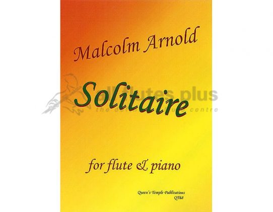 Arnold Solitaire-Flute and Piano-Queens Temple Publications