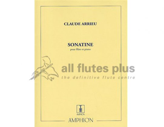 Arrieu Sonatine-Flute and Piano-Amphion