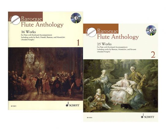 Baroque Flute Anthology-Flute and Piano Plus CD