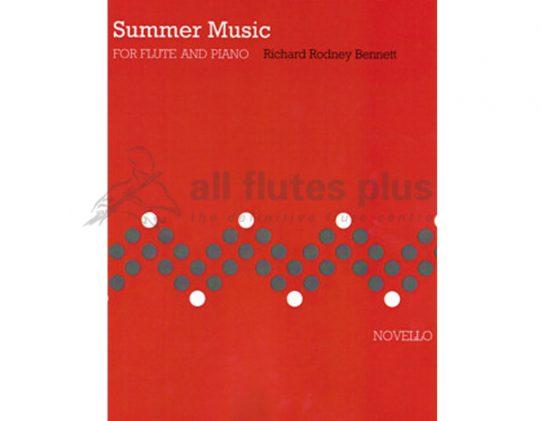 Bennett-Summer Music-Flute and Piano-Novello