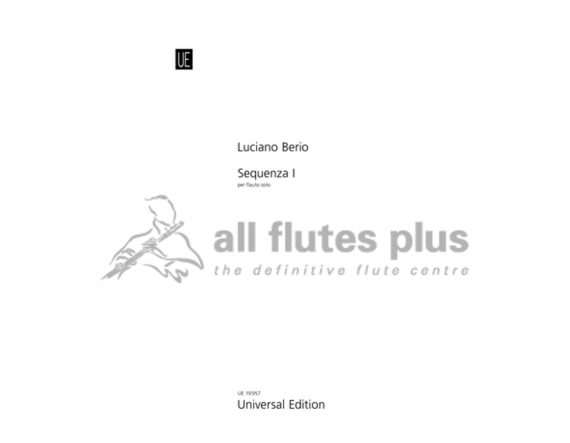 Berio Sequenza I-Solo Flute-Universal