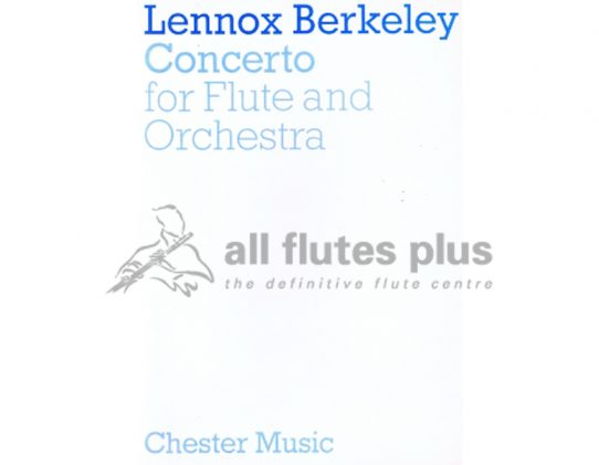 Berkeley Concerto-Flute and Piano-Chester