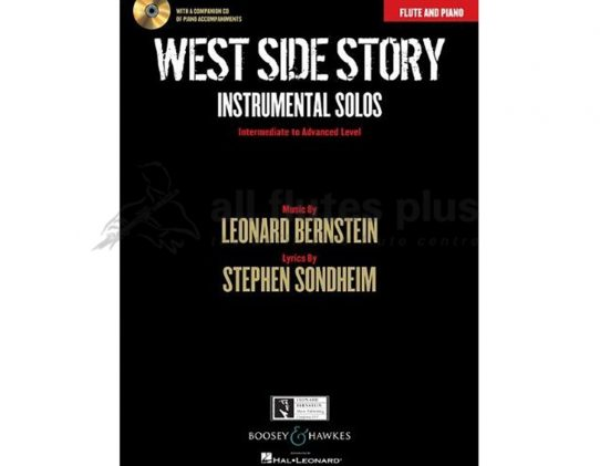 Bernstein West Side Story Instrumental Solos-Flute Piano and CD