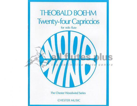 Boehm 24 Capriccios for Solo Flute-Chester