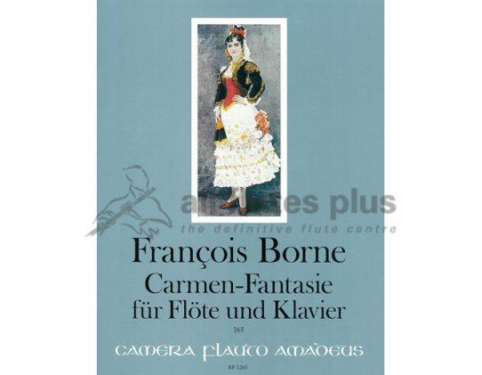 Borne Carmen Fantasie-Flute and Piano-Amadeus