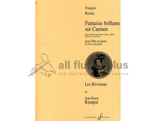 Borne Carmen Fantasie-Flute and Piano