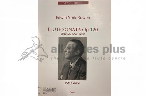 Bowen Sonata Opus 120-Flute and Piano-Emerson
