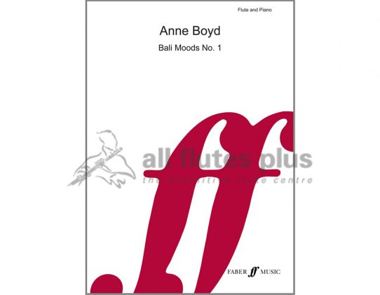 Boyd Bali Moods No 1-Flute and Piano-Faber