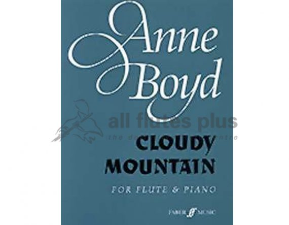 Boyd Cloudy Mountain-Flute and Piano-Faber