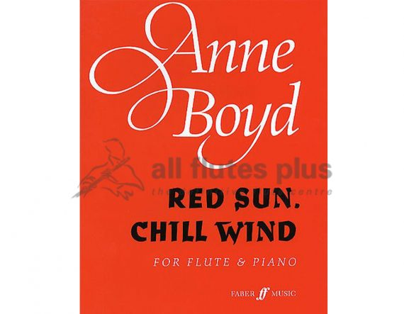 Boyd Red Sun-Chill Wind-Flute and Piano-Faber
