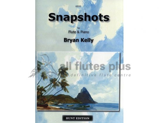 Bryan Kelly-Snapshots-Flute and Piano